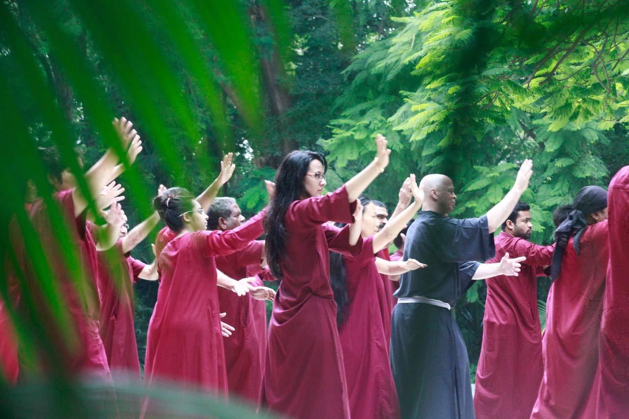 Meditazione in Buddha Grove
